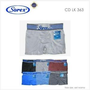 SOREX ART 363  SOREX MAN Free Size  Eceran Rp 35.000/PC  Grosir Rp 160.000/6PC